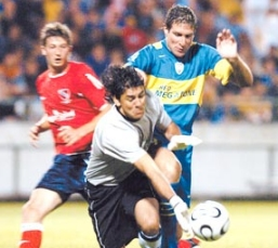 2006:  Boca empató con Independiente 0 a 0