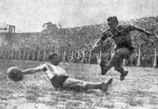 1945:  Boca le ganó a Racing Club 3 a 1