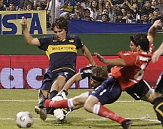 2009:  Boca le ganó a Independiente 2 a 0